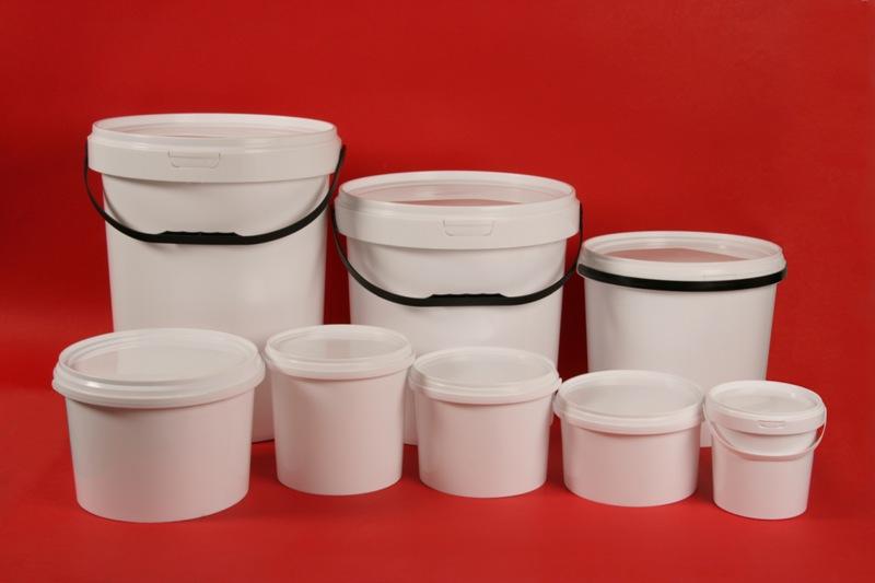 Plastic Buckets 1 Litre 2 Litre 5 Litre 10 Litre